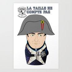 Napoleon Matryoshka (French) Art Print