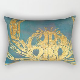 Deep Sea Life Crab Rectangular Pillow