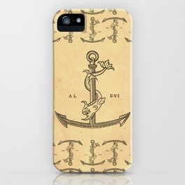 Aldus Manutius Printer Mark iPhone Case