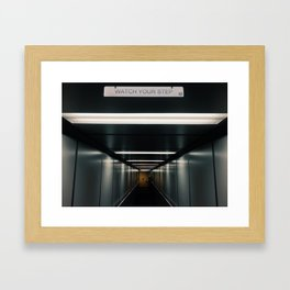Watch you Sh*t Framed Art Print