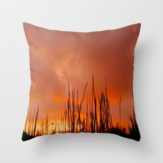 The Storm Is Over Throw Pillow