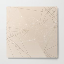 LIGHT LINES ENSEMBLE III Metal Print