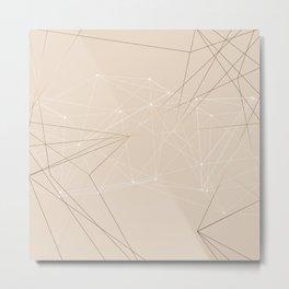 LIGHT LINES ENSEMBLE III Metal Print