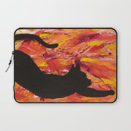 Cat Stretch Laptop Sleeve