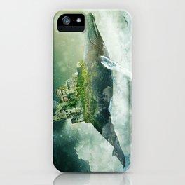 Flying kingdoms iPhone Case