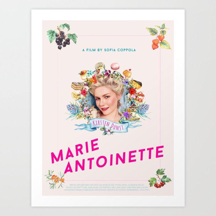Marie Antoinette alternative movie poster Art Print