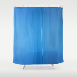 Abstract Blues Shower Curtain