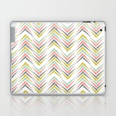 Wheat Chevron Laptop & iPad Skin