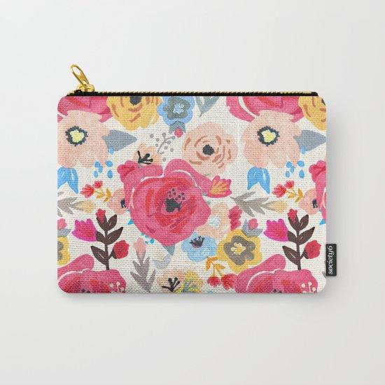 Summer Flora Carry-All Pouch