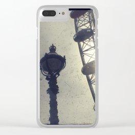 Light fantastic Clear iPhone Case