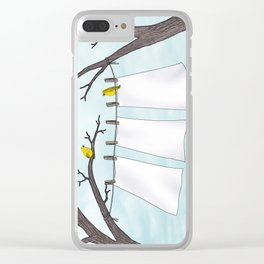 spring clean Clear iPhone Case
