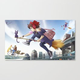 Kiki's Logistics Canvas Print
