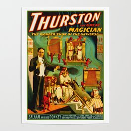 Thurston The Great Magician - Egypt Poster