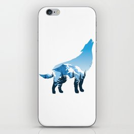 "Awesome Wolf Tee For Werewolf Fan Tee ""Werewolf""  Full Moon Animals Forest Hunt Welfare Werewolves iPhone Skin"