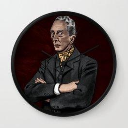 Portrait of an Illustrator - Rockwell Wall Clock