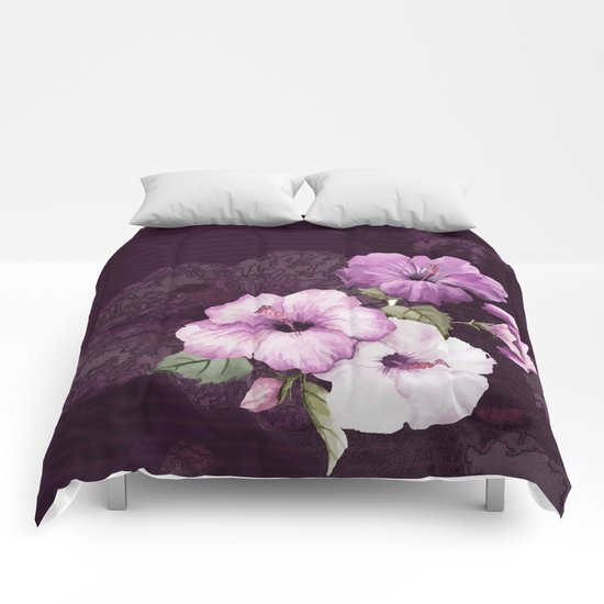 The shadow of flowers Comforters