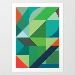 Minimal/Maximal 2 Art Print