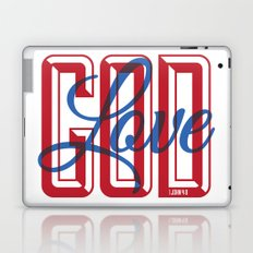 God is Love Laptop & iPad Skin