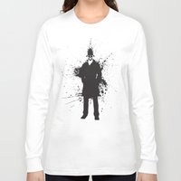 watchmen Long Sleeve T-shirts featuring WATCHMEN - RORSCHACH (YELLOW EDITION) by Zorio