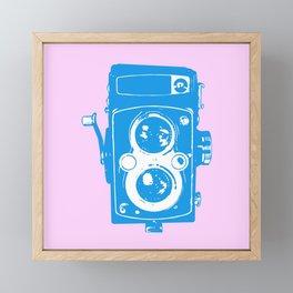Big Vintage Camera Framed Mini Art Print