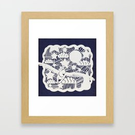 You better hold on to me Framed Art Print
