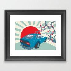 Datsun Z Framed Art Print