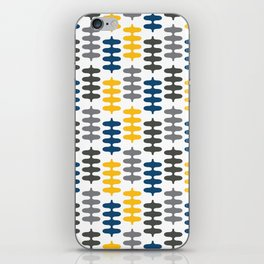Joy collection - Yellow leaves iPhone Skin