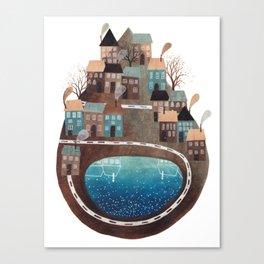 GEMMA CAPDEVILA PLANET Canvas Print