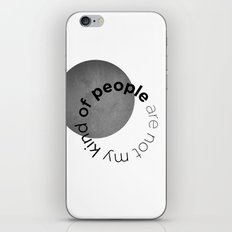people are not my kind of iPhone & iPod Skin