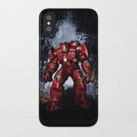 iron man iPhone & iPod Cases featuring IRON MAN iron man by alifart