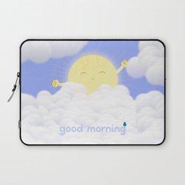 Good Morning Sky Laptop Sleeve