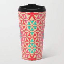 Flower of Life Pattern 31 Travel Mug