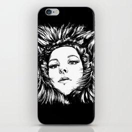 FUR portrait T. iPhone Skin
