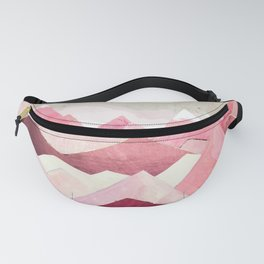 Blush Berry Peaks Fanny Pack