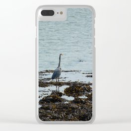 Grey Heron Ards Donegal Ireland 2 Clear iPhone Case
