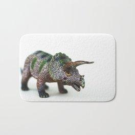 Fine Art Dinosaur Print: Triceratops Bath Mat