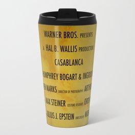 Casablanca cast & crew Travel Mug