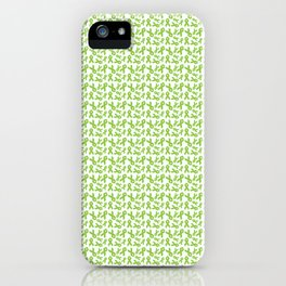 Lime Ribbon iPhone Case