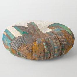 Minneapolis Skyline Floor Pillow