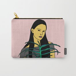 Girl with aloe Carry-All Pouch