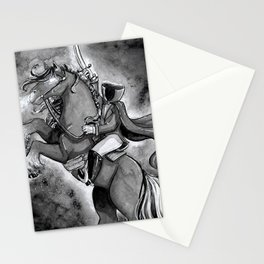 The Headless Horseman - Inktober Stationery Cards