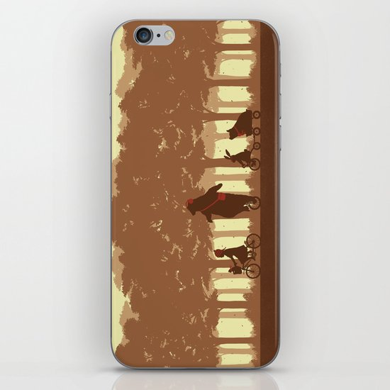 Biking with Friends iPhone & iPod Skin