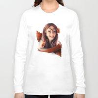 fall Long Sleeve T-shirts featuring Fall by Naomi Shingler
