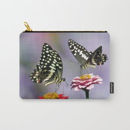 Swallow tail  or Christmas Butterfly Carry-All Pouch