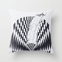 Art of Pleasure Throw Pillow