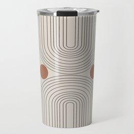 Modern Minimalistic Art Travel Mug