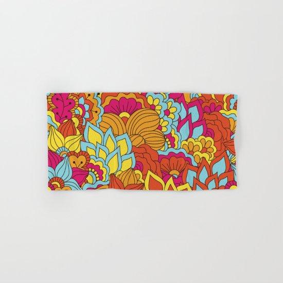Shabby flowers #19 Hand & Bath Towel