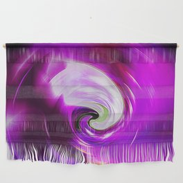 """""""New Wormhole"""" Print Wall Hanging"""