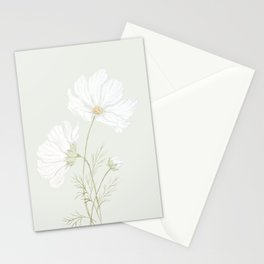 Dainty Cosmos Stationery Cards