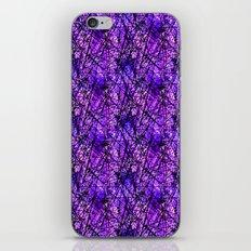 Purple Scratches iPhone & iPod Skin